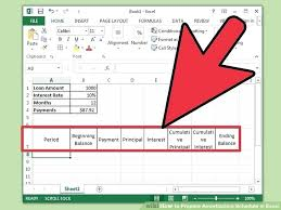 Amortization Schedule Calculator Excel – Licschemes.club