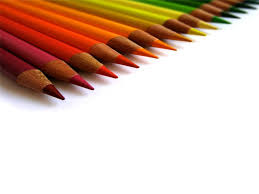 Education Background For Powerpoint Colored Pencil For Education Slide Backgrounds For Powerpoint