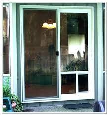 sliding glass pet door sliding glass door with dog door sliding glass door pet door sliding