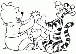 Winnie The Pooh Coloring Pages Free Great Winnie The Pooh Printable