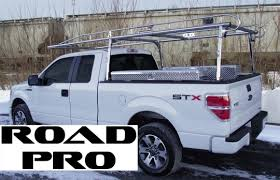 Road Pro Lifetime Ladder Rack, Ext & Crew Cab Ford Super Duty and ...