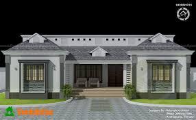 single floor kerala home design