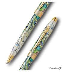 Długopis Cross Botanica Zielona Lilia - Sklep Pióro - markowe i ekskluzywne  pióra wieczne
