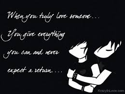 Truly Love Quotes Interesting When You Truly Love Someone
