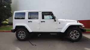 jeep rubicon 2014 white. Exellent White EL115488  2014 Jeep Wrangler Unlimited Rubicon KirklandDCJ White   YouTube Intended E