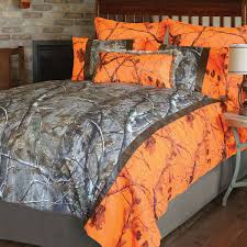 realtree camo bed sets queen size realtree ap and orange blaze ap