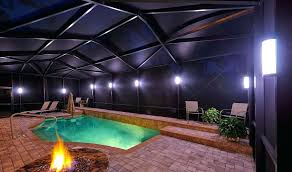 pool cage lighting tampa nebula low voltage all of these will quickly wreak havoc on generic pool cage lighting