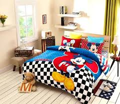 mickey mouse bedding set for teen boys kids bedroom crib baby