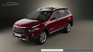 Fiat C Suv Toyota Fortuner Rival Rendering