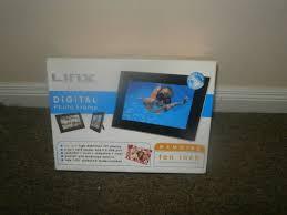 digital photo frame lynx 10 inch