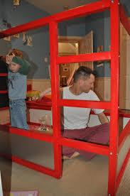 build fire truck bunk