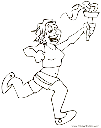Small Picture Summer Olympics Coloring page Olympic Flame Coloring Page