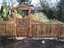 rustic japanese fence idea