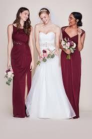 long bridesmaid dresses you ll love david s bridal