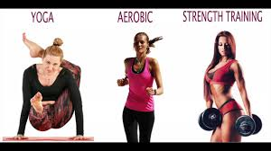 strength training for women over 40 vs yoga and aerobics