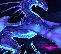 Neon Dragon Wallpaper