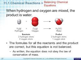 balanced equation for the breakdown of hydrogen peroxide by