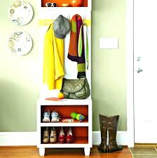Shoe And Coat Rack Custom Shoe Rack Storage Bench Entryway Coat And Shoe Rack Storage For