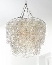 plain capiz bernadette 3light capiz chandelier throughout light fixture