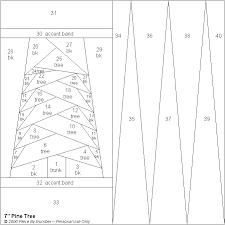 Pine Tree Free Paper Piecing Quilt Block Pattern & Pine Tree Paper Pieced Quilt Block Pattern Adamdwight.com