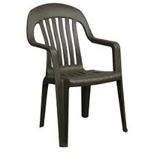 stackable plastic chairs. Shop Adams Mfg Corp Earth Slat Seat Resin Stackable Patio Plastic Chairs H