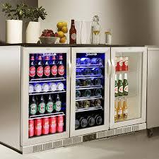 beverage back bar cooler fridge