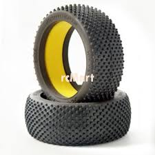 Jconcepts 3009 01 Hit Men Tire Soft Blue Comp For 1 8 Buggy Discontinued