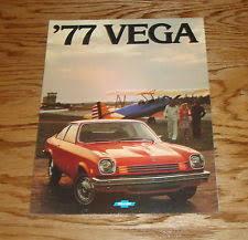 chevrolet vega transportation original 1977 chevrolet vega s brochure 77 chevy