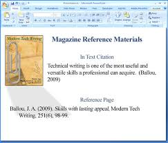 How To Create A Powerpoint Presentation In Apa Style Apa