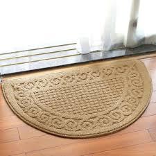 non slip rug mat half round non slip kitchen bedroom toilet doormat floor rug mat keeps