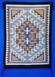 01 navajo textiles navajo rug two grey hills by ruth ann be