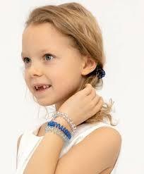 <b>Комплект резинок для волос</b>, 4 шт. Button Blue для девочек ...