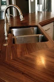 custom walnut wood countertop in watford city nd