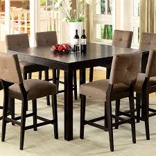 Dining Table With Storage Modern Counter Height Kitchen Table With Storage Vs Counter High