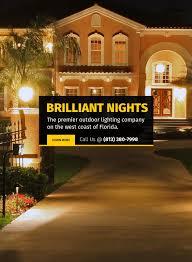 Landscape Lighting Repair Orlando Brilliant Nights Artistry In Outdoor Lighting