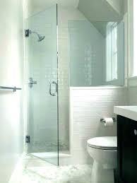frameless glass shower walls glass shower l cost with half doors ls ed charming medium size
