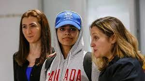 رهف القنون من ملجئها في كندا: عائلتي تبرأت مني - المدن