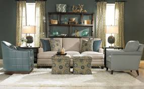 Transitional Style Living Room Furniture Terrific Cream Velvet Tuxedo Style Living Room Sofas With Nail
