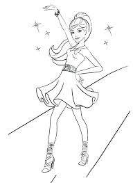 Barbie Coloring Pages Printables Barbie Coloring Pages Barbie