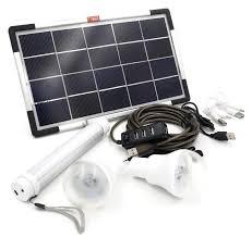 6w solar panel diy lighting kit