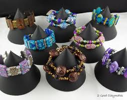 How To Make Jewelry Stands And Displays Simple 32 Good Claymates Easy To Make Bracelet Display Stands