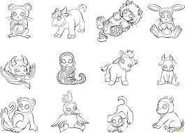 Free Printable Coloring Pages Baby Farm Animals Awesome Animal
