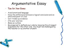 writing skills argumentative essay mr havlicek ap language and  tips for your essay avoid emotional language know the difference between a logical conclusion and