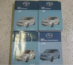cheap wiring diagram manual wiring diagram manual deals on get quotations · 2008 toyota scion xb xb x b service shop repair manual set oem factory books 08
