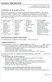 Research Analyst Sample Resume Market Research Analyst Resume