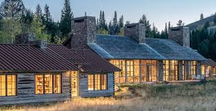 rustic modern residential architecture. Fine Residential Three Luxury Mountain West Houses By Montana Architecture Firm JLF  Architects Featured In New Rustic Modern Book  AB Home U0026 Garden On Residential E