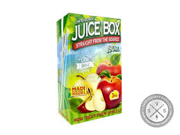 apple juice box. juice box ejuice by one mad hit e-liquids 180ml apple