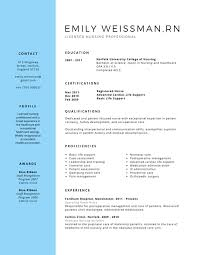 Professional Licensed Nurse Resume Canva Career Pinterest