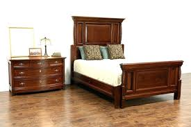 Queen Anne Bedroom Set Bedroom Furniture Painted White Cherry Wood Chairs  Set Queen Anne Bedroom Furniture .