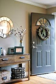 front door tableBest 25 Front hall decor ideas on Pinterest  Front entrance